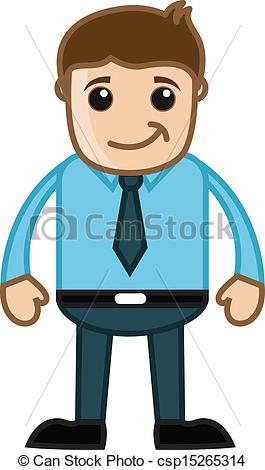 Professional clipart person Happy of Business Guy Professional