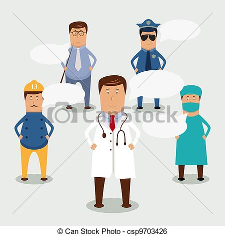 Professional clipart person People professional Art  csp9703426