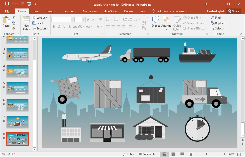 Professional clipart powerpoint Own existing Chain to for