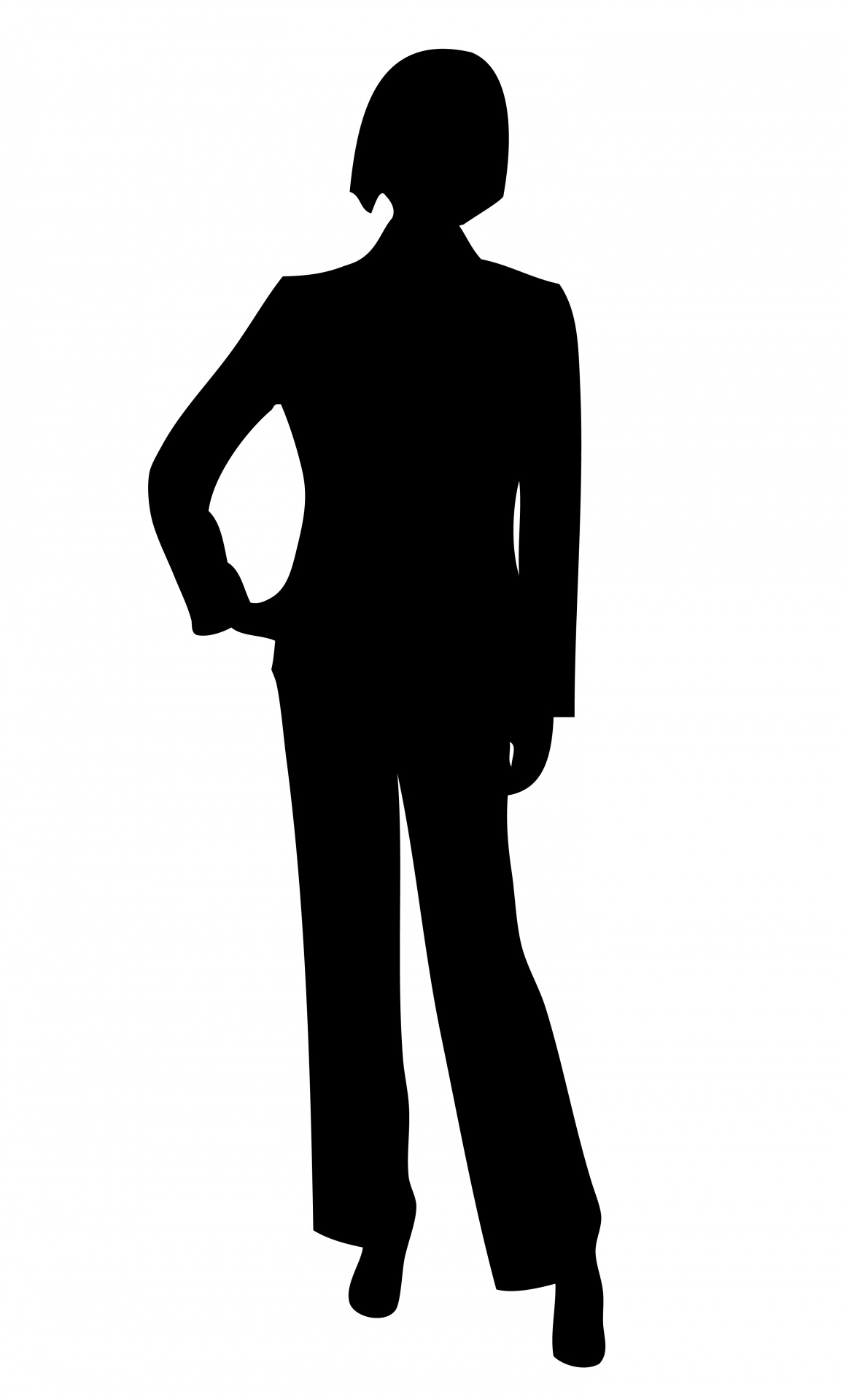 Shaow clipart business person Clipart Domain Business Woman Silhouette