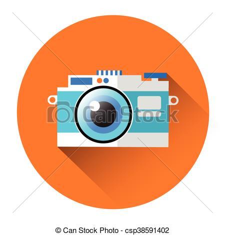 Professional clipart stock Vector Vector Clipart Professional Camera