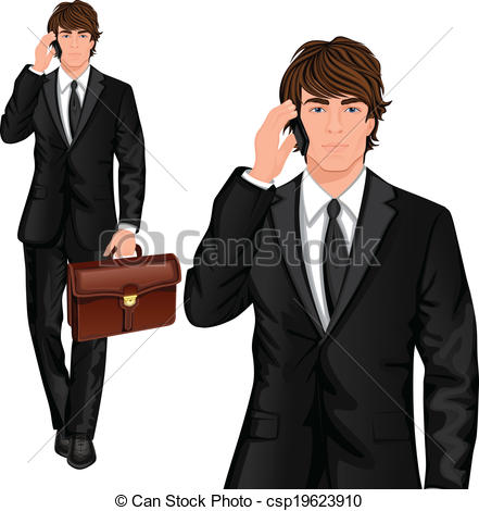Professional clipart stock Young Vector Clip of Young