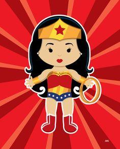 Catwoman clipart wonder woman Woman Woman by Nursery Wonder