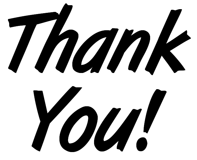 Professional clipart thank you Community crowdfunding  and creative