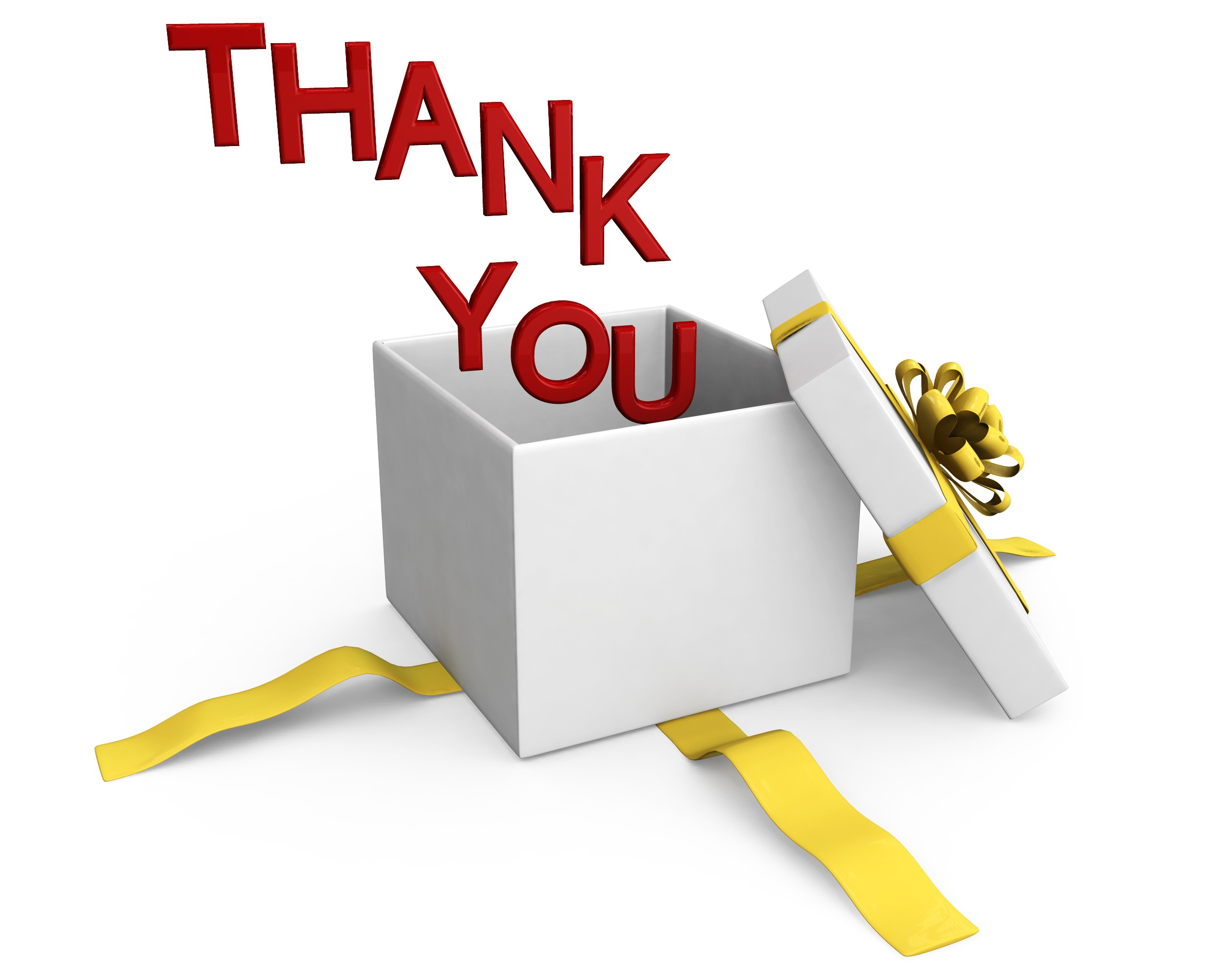 Professional clipart thank you Templates Box Stock PPT Of