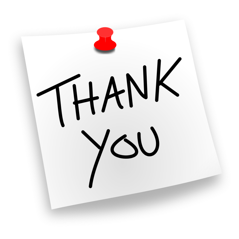 Professional clipart thank you Com Clipart You thank Thank