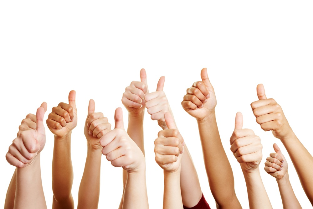 Professional clipart thumbs up #5