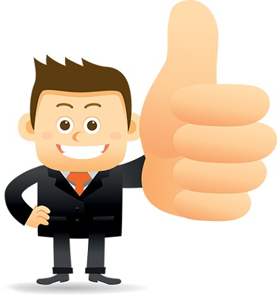 Professional clipart thumbs up #4