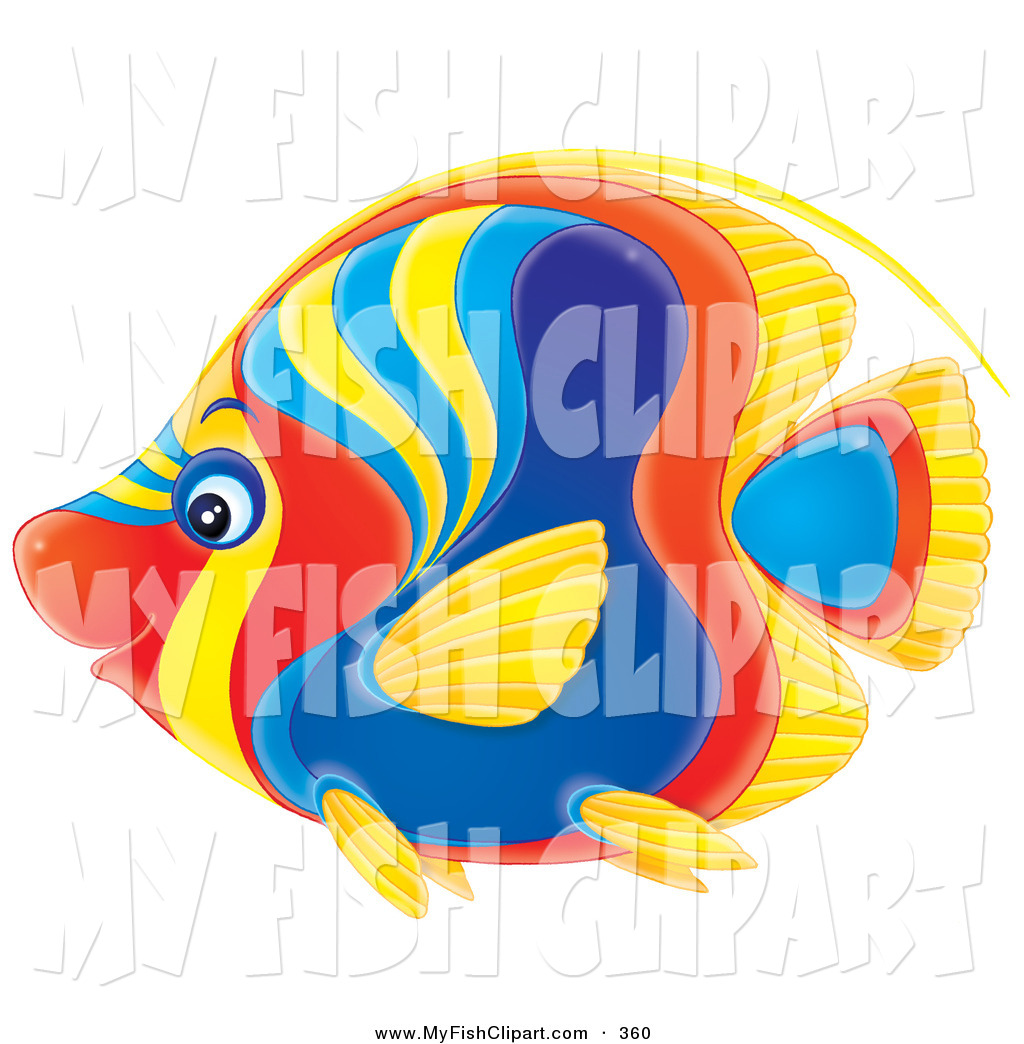 Angelfish clipart orange fish Angel Clipart Free Clipart Images