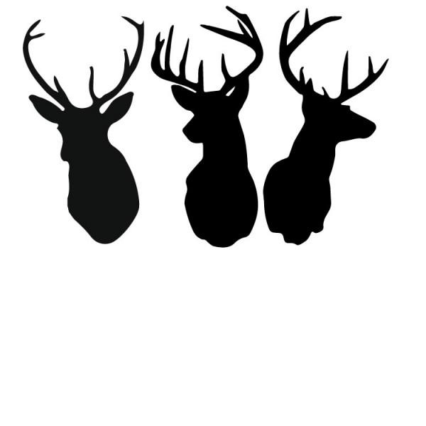 Antler clipart deer head Buck buckhorn clip head Search