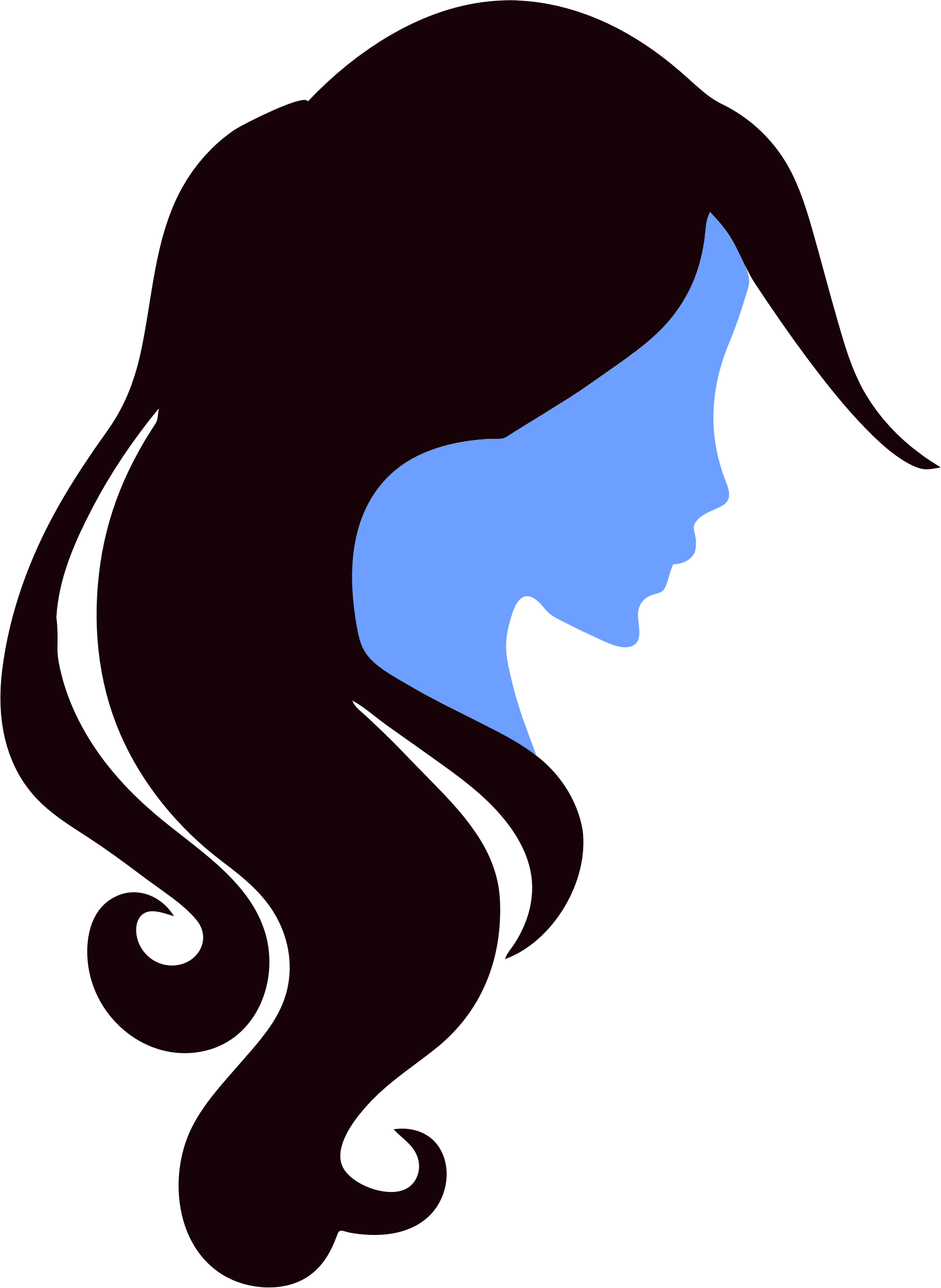 Woman clipart profile Profile Woman Clipart Woman Profile