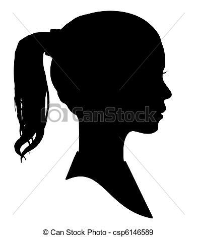 Woman clipart profile Girls profile profile clipart clipart