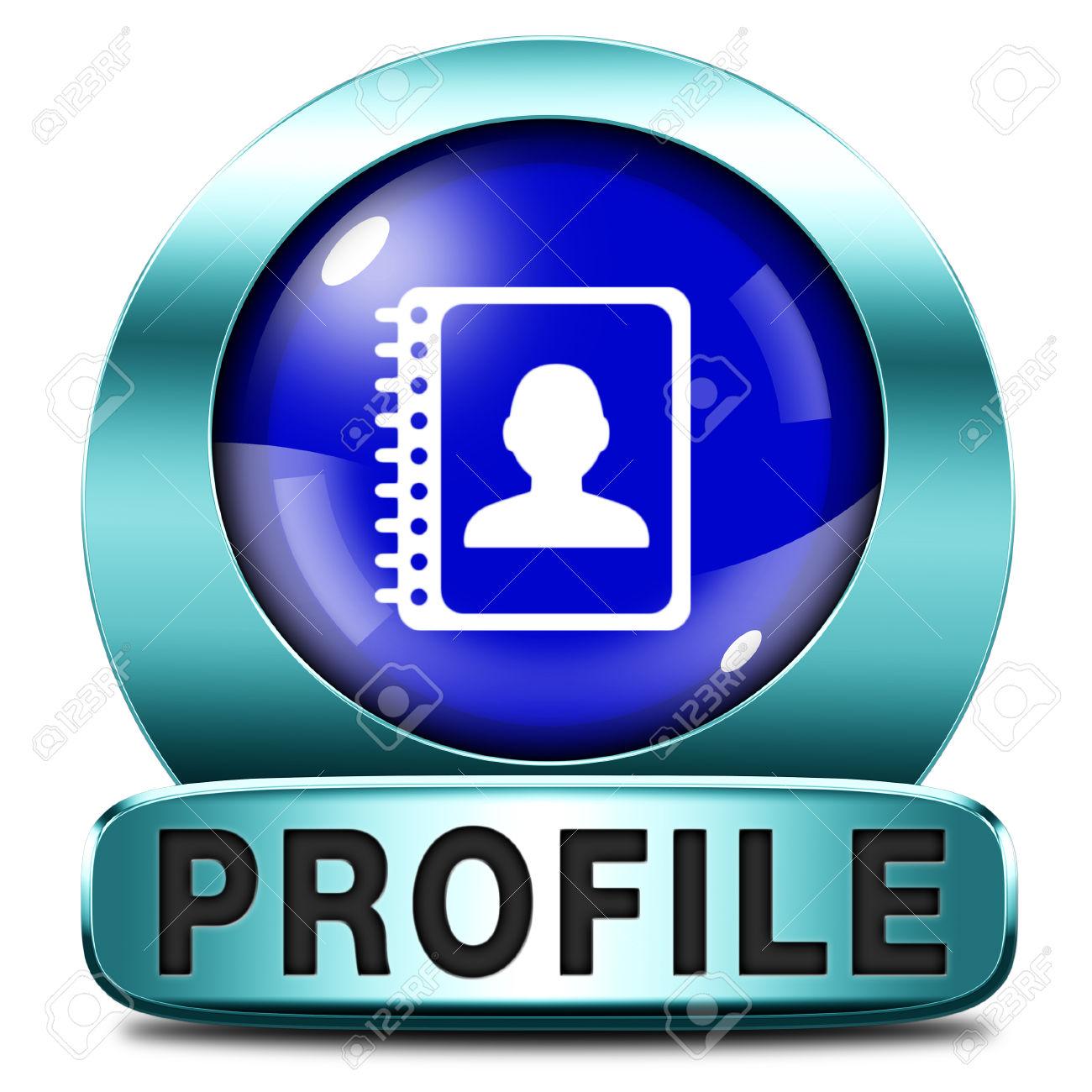 Profile clipart personal profile #7