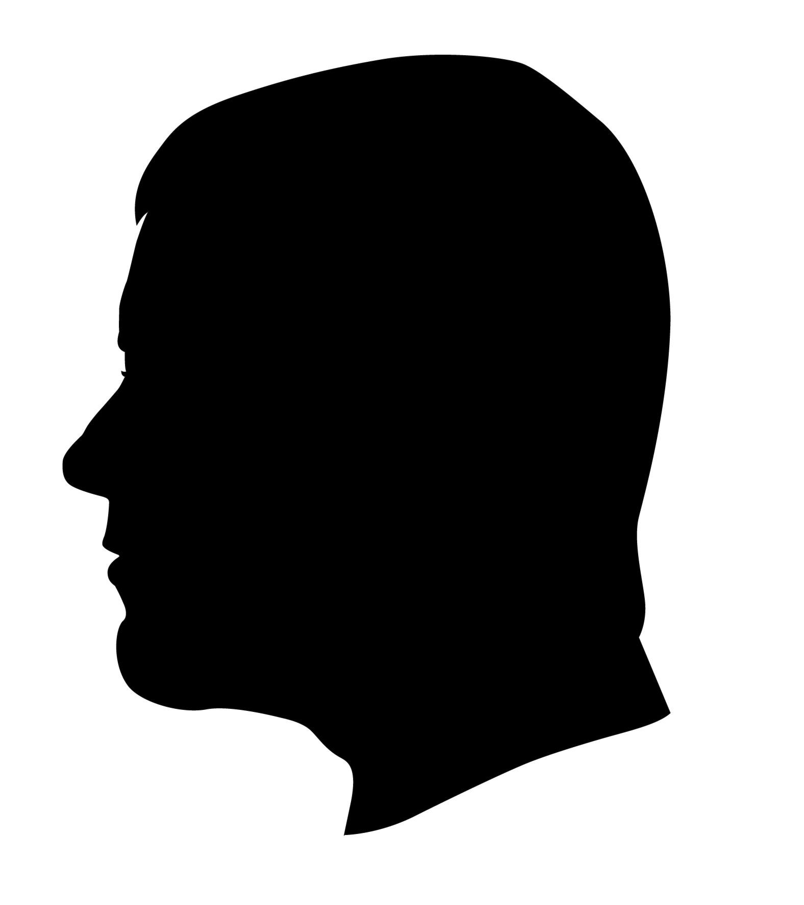 Profile clipart silhouette #10