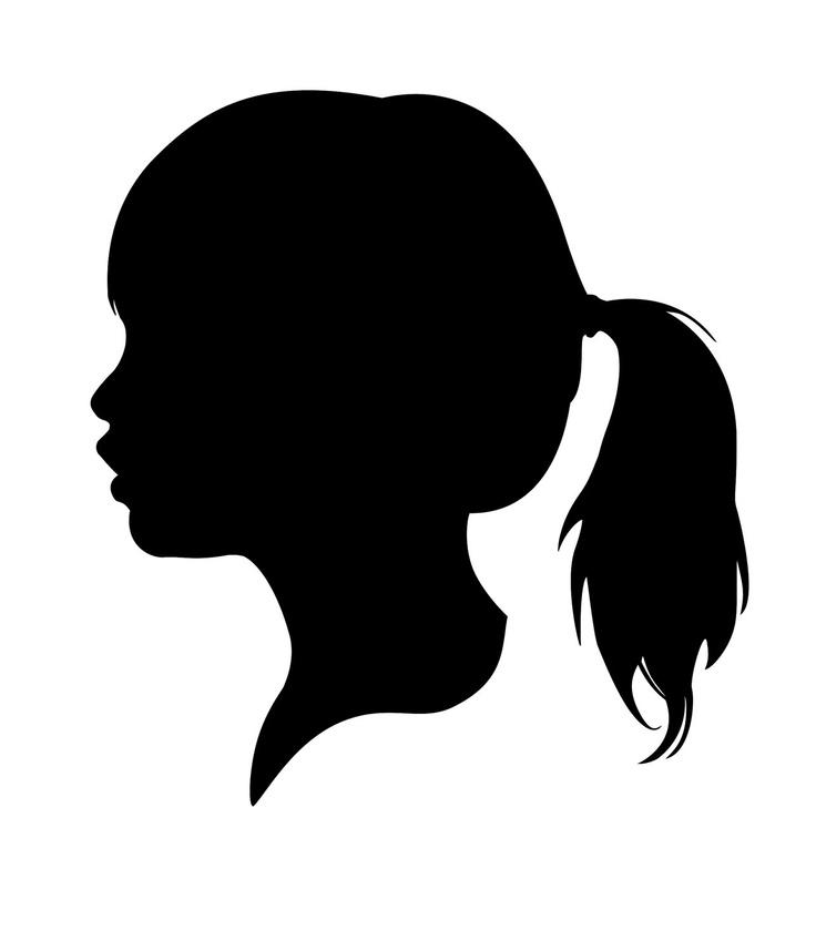 Profile clipart silhouette #13