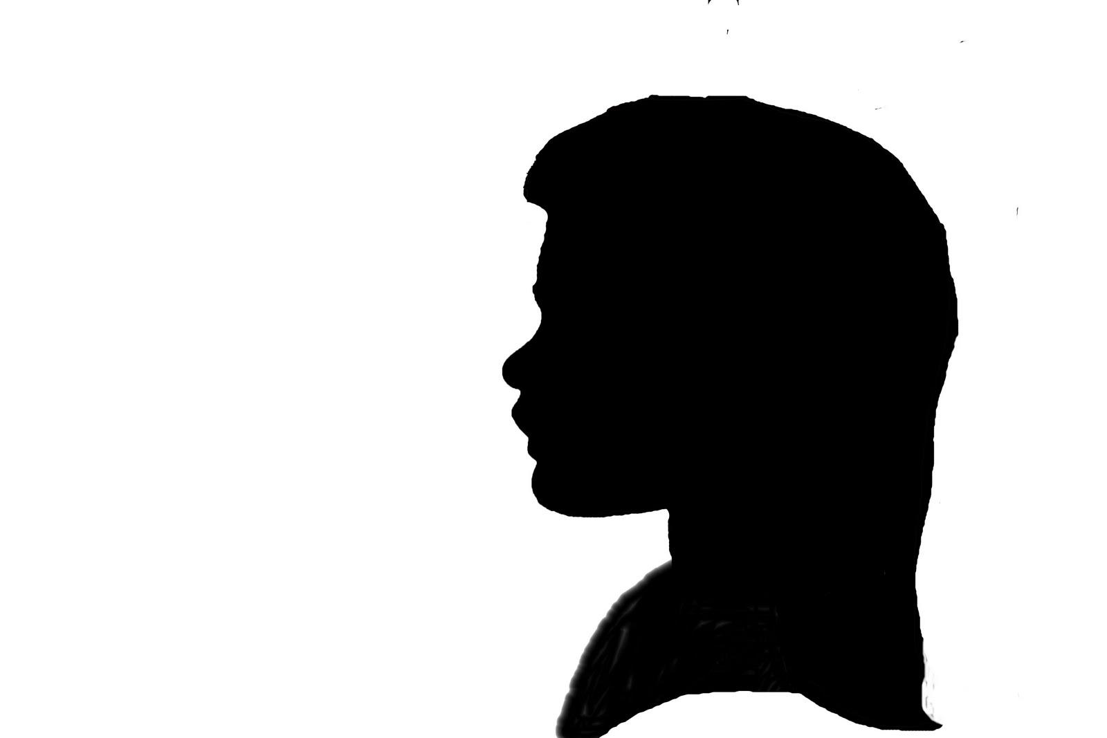 Profile clipart silhouette #14