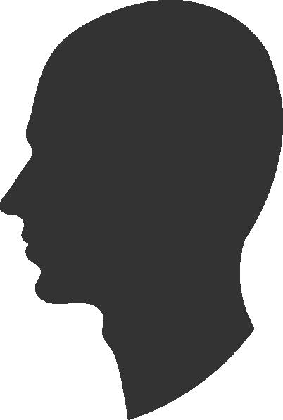 Profile clipart silhouette #7