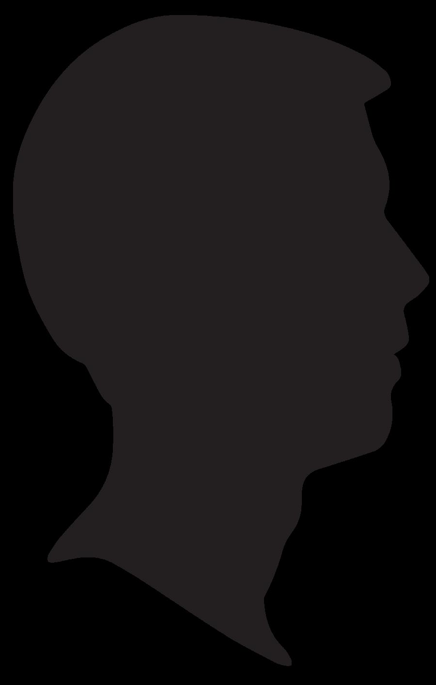 Profile clipart silhouette #8