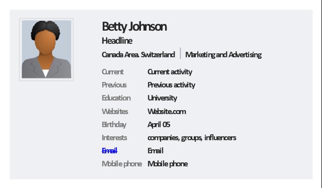 Profile clipart user profile #5