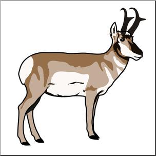 Pronghorn Antelope clipart Art: 1 com abcteach 2
