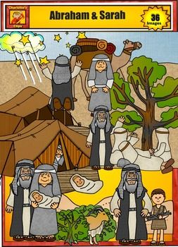 Prophecy clipart abraham and sarah By Art Clip and best
