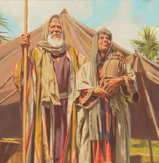 Prophecy clipart abraham and sarah Part Stores Bible Abraham And