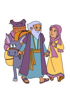 Prophecy clipart abraham and sarah  Bible Abraham Preschool Archives