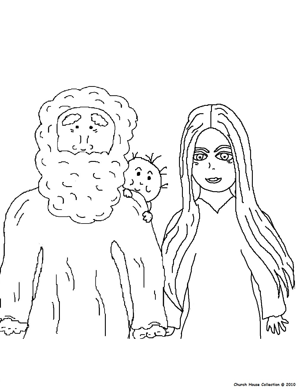 Prophecy clipart abraham and sarah Baby Class and Sarah Abraham's