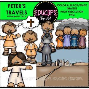Prophecy clipart bible man The (Color Art Elijah Peter's