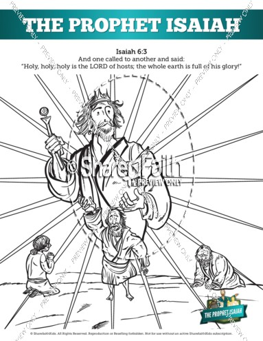 Prophecy clipart isaiah Pages Isaiah Prophet The
