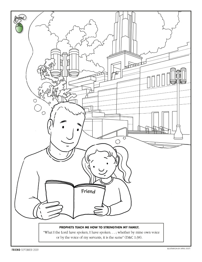 Prophecy clipart lds family 48 page 2009 Coloring September