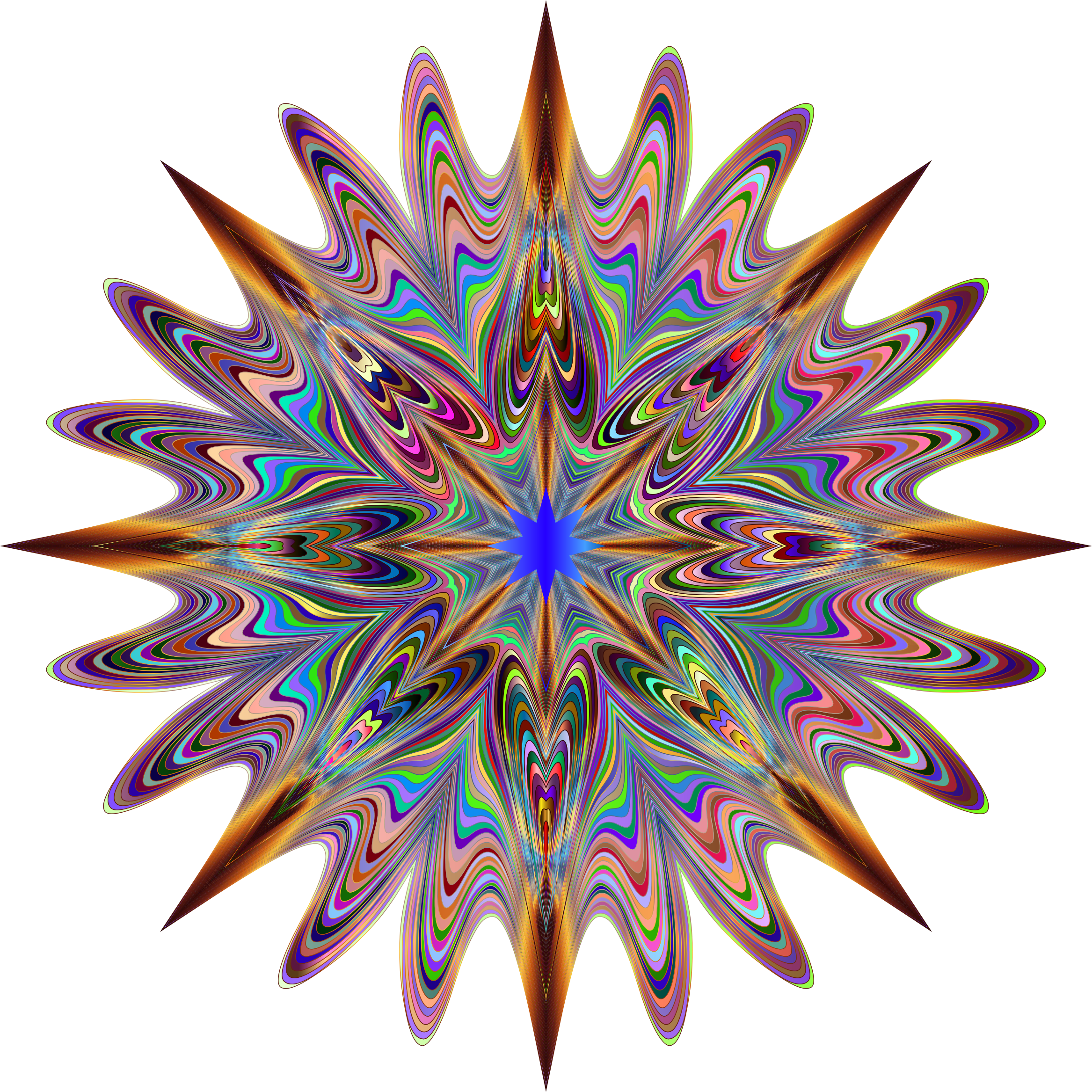Physcedelic clipart Psychedelic Star Chromatic No Clipart