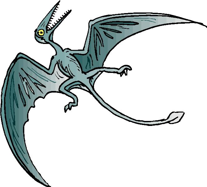 Pteranodon clipart #11