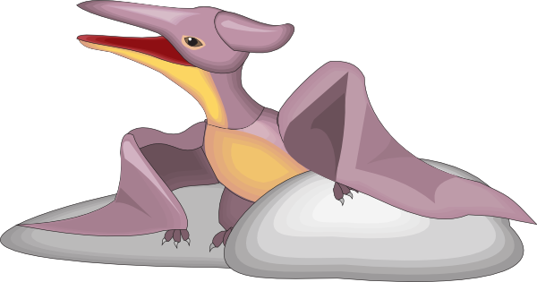 Pteranodon clipart #12
