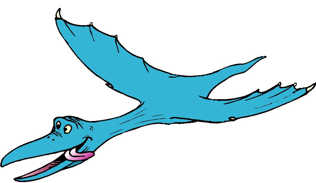 Pteranodon clipart #3