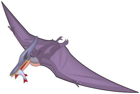 Pteranodon clipart #1