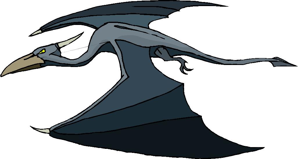 Pteranodon clipart #8