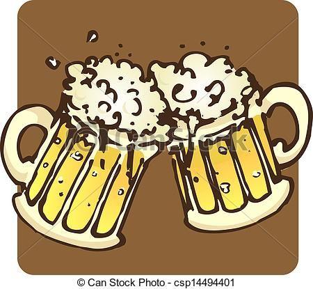 Drawn beer beer cheer Icon Beer beer 15 on