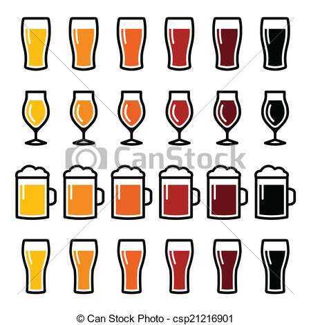 Pub clipart beer glass Beer icons Beer of glasses