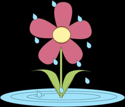 Gallery clipart april flower Art Images in Rain Rain