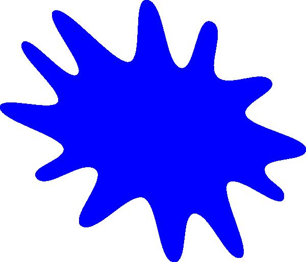 Blur clipart splat Vector Art image online Clker