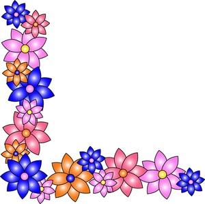 Line clipart floral Clipart clip border Panda clipart