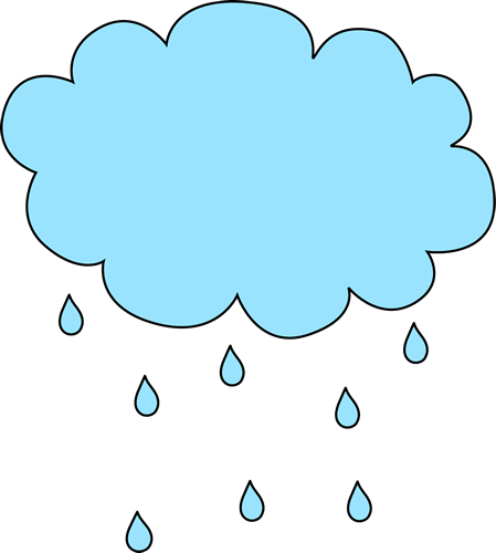 Gloomy clipart rainy day Clip Art Rain Cloud Images
