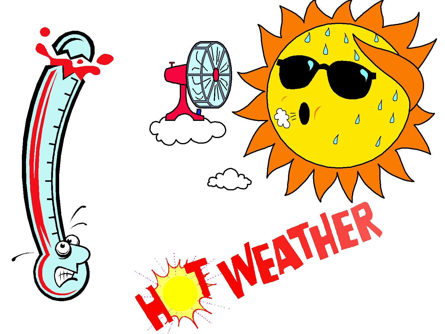 Heat clipart hot weather Clipart Extreme Free (5975) Heat