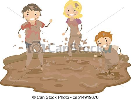 Brown clipart muddy Clipart vector EPS Art 299