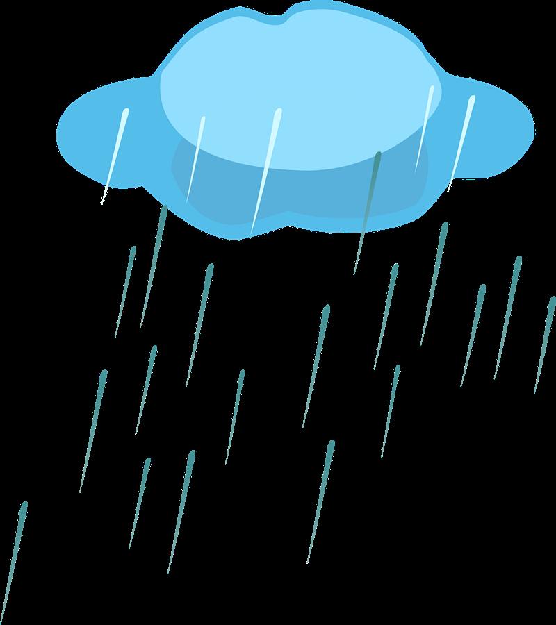 Thunderstorm clipart rainy day Rain art clip Rain art