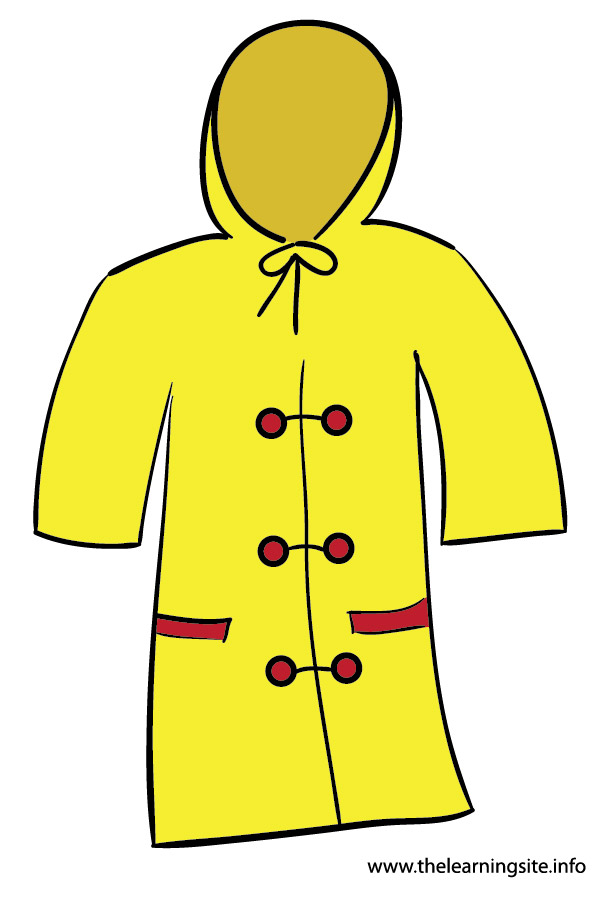 Coat clipart old clothes  Resolution Rain 600x900 Clipart
