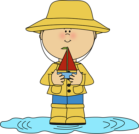 Sailboat clipart toy boat Clipart Clipart Hat Rain Puddle