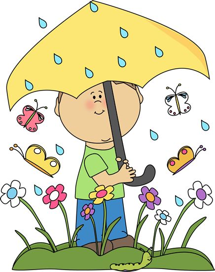 Gloomy clipart rainy day Day Spring Into Rainy Clip