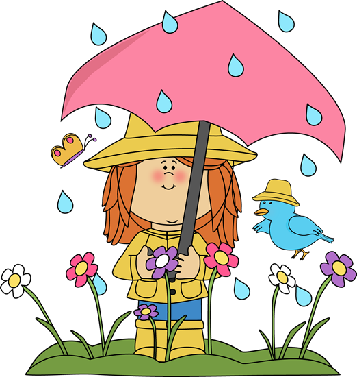 Spring clipart & From Day Believe Rainy